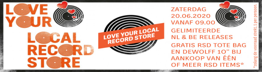 RSD Love Your Local Record Store