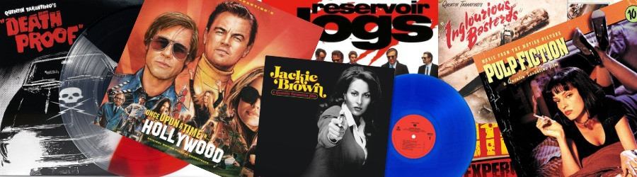 Quentin Tarantino Soundtrack LP