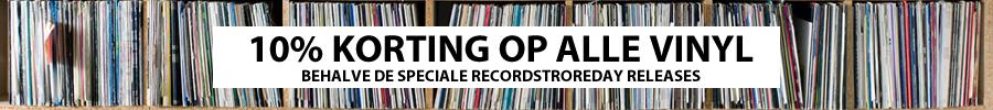 10% korting op alle vinyl